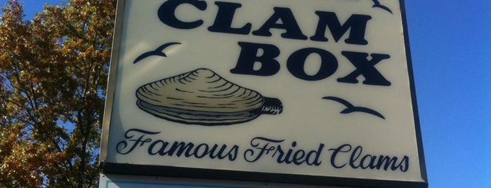 The Clam Box is one of Orte, die Jennifer gefallen.