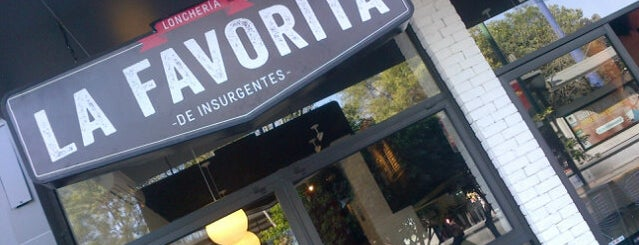 Loncheria La Favorita de Insurgentes is one of Restaurants.