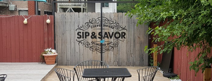 Sip & Savor is one of Locais salvos de Nikkia J.