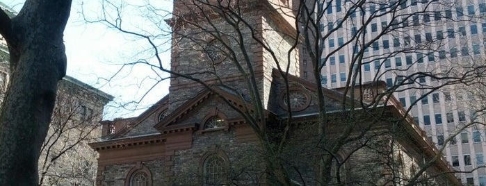 St. Paul's Chapel is one of DINA4NYC.