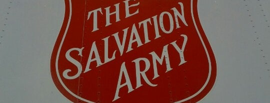 Salvation Army is one of Friday with Abigail.