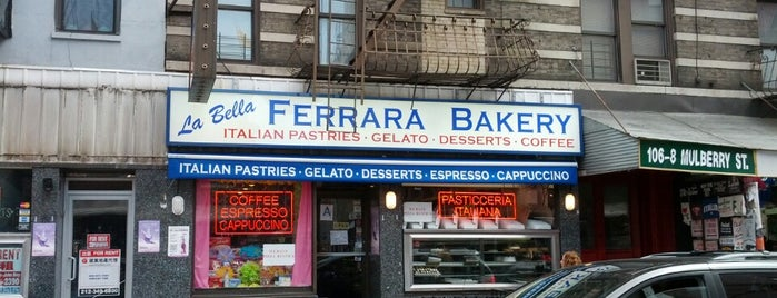 La Bella Ferrara is one of Weekend bakeries/treats.