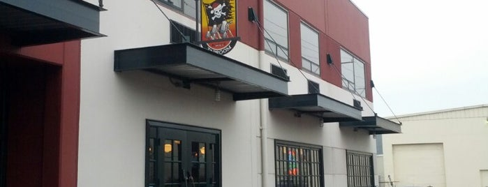 Jolly Roger Taproom is one of Seattle Brewpubs, Taprooms and Breweries.