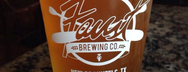 The Historic Faust Hotel & Microbrewery is one of New Braunfels.