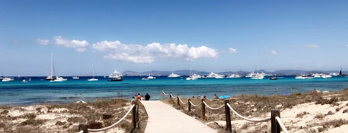 Formentera is one of when in ibiza.