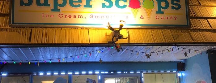 Super Scoops is one of Trip Advisor's Top 10 Ice Cream Shops in U.S..