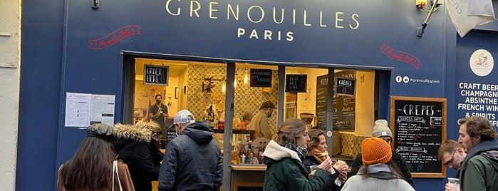 Grenouilles is one of [ Paris ].