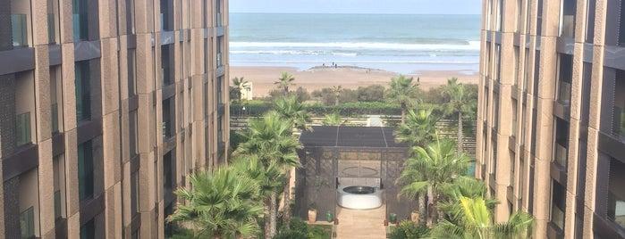 Four Seasons Hotel Casablanca is one of Tempat yang Disukai Burç.