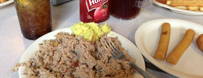 Parker's Barbecue is one of 500 Things to Eat & Where - South.