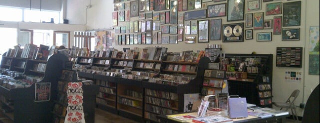 Fingerprints CD & Record Store is one of so cal.
