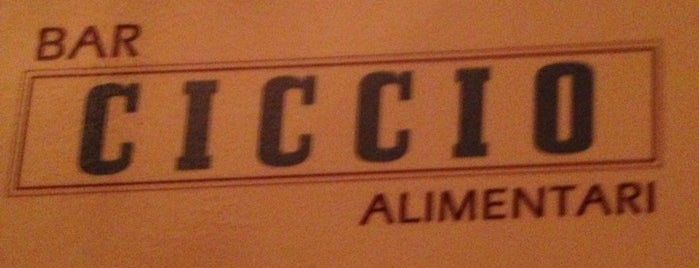Bar Ciccio Alimentari is one of WV.