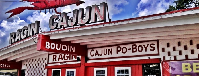 Ragin Cajun is one of #seeyouintexas.