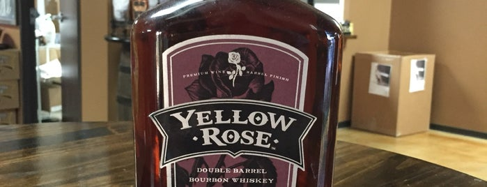 Yellow Rose Distillery is one of More Houston.