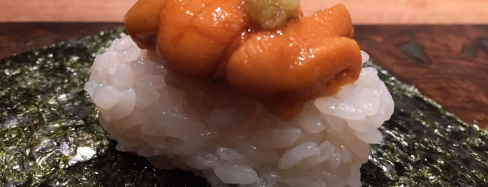 Cagen is one of NYC Michelin Star Sushi - 2017.