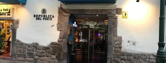 La República del Pisco is one of Lieux sauvegardés par Tom.