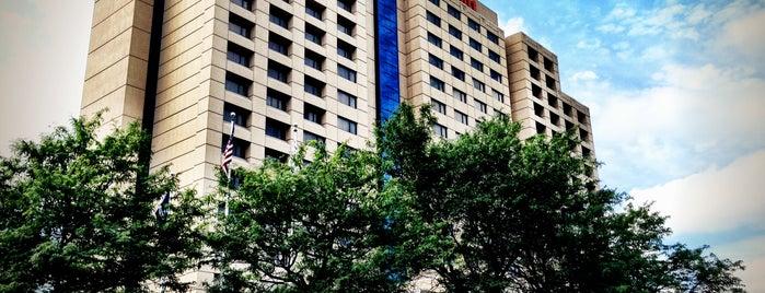Detroit Marriott Troy is one of Lieux qui ont plu à Jim.