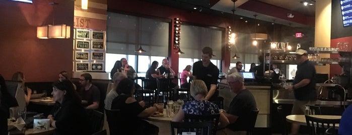 Shaker's Bar & Grill is one of Tempat yang Disukai Pete.