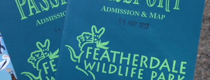 Featherdale Wildlife Park is one of Sydney.