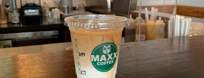 Maxx Coffee is one of Olgaさんのお気に入りスポット.