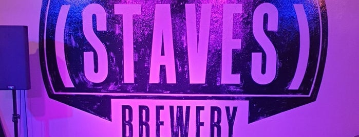 Staves Brewery is one of Bars & Pubs.