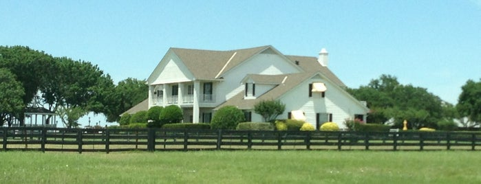 Southfork Ranch is one of Texas Places to Try.