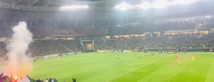 Yeni Sakarya Atatürk Stadyumu is one of ♏️UTLU'nun Beğendiği Mekanlar.