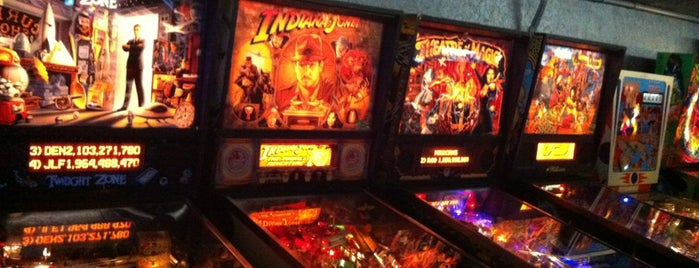 Ground Kontrol Classic Arcade is one of Pinball Destinations.