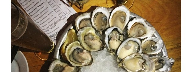 Upstate Craft Beer and Oyster Bar is one of End of Summer Seafood Bucket List.