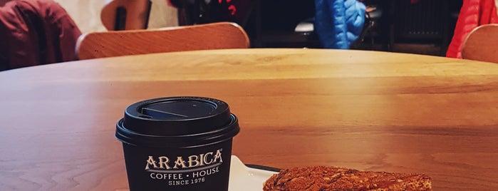 Arabica Coffee House is one of Tempat yang Disukai Hanna.