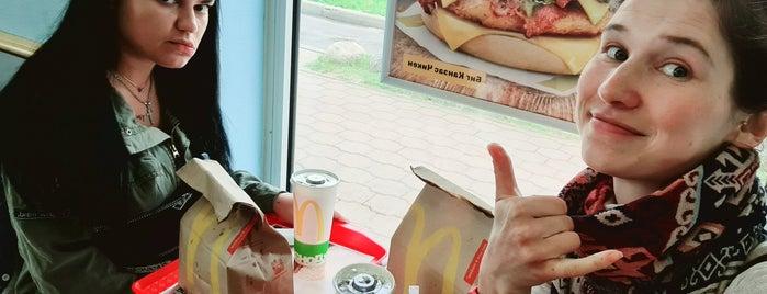 McDonald's is one of Tempat yang Disukai Hanna.