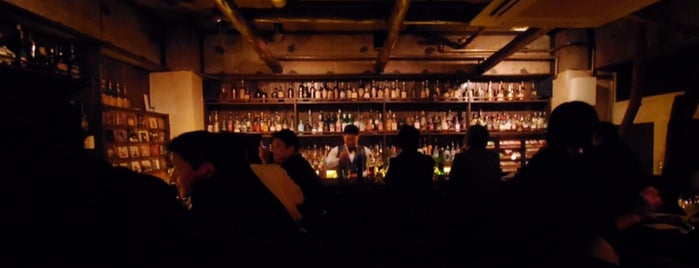 Bar White Label is one of 東京ココに行く! Vol.42.