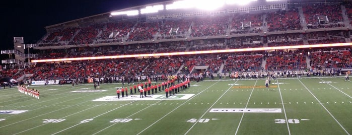 TD Place Stadium is one of sports arenas and stadiums.