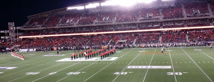 TD Place Stadium is one of Lugares favoritos de LJ.