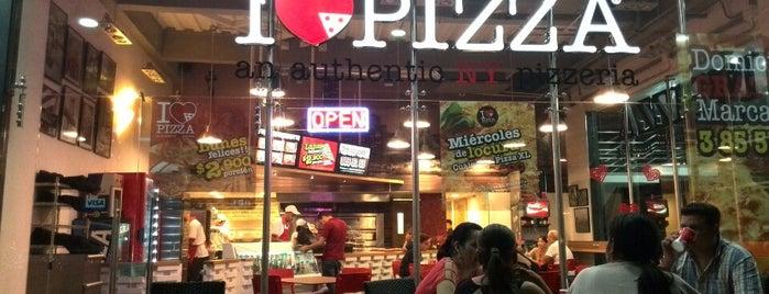 I Love Pizza is one of Orte, die Monica gefallen.
