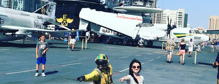 USS Midway Flight Deck is one of InSite - San Diego.
