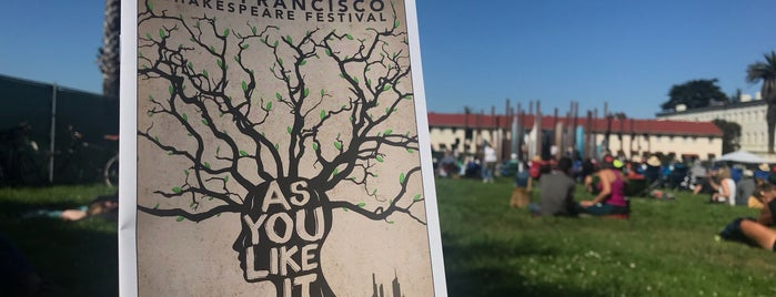 Free Shakespeare in the Park is one of SF.