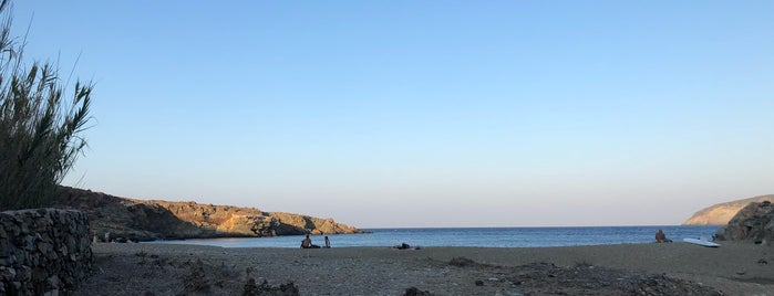 Lia Beach is one of Serifos, Greece.