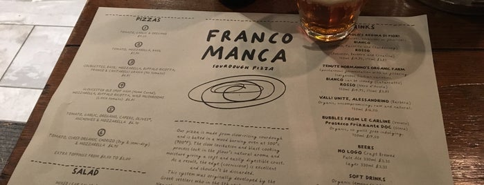 Franco Manca is one of Locais curtidos por Barry.