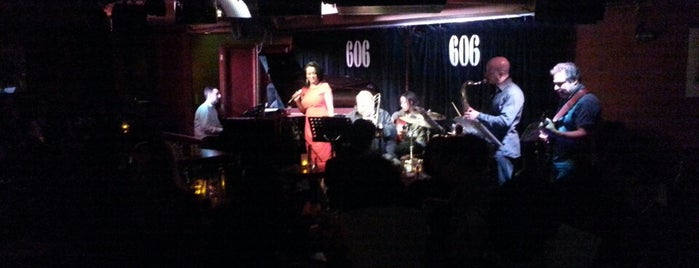 606 Club is one of Live.