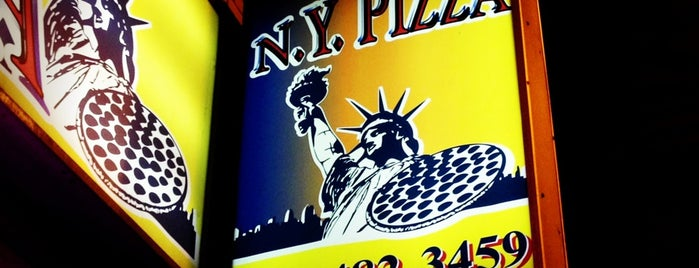 New York Pizza - Theater District is one of Visited in Boston.