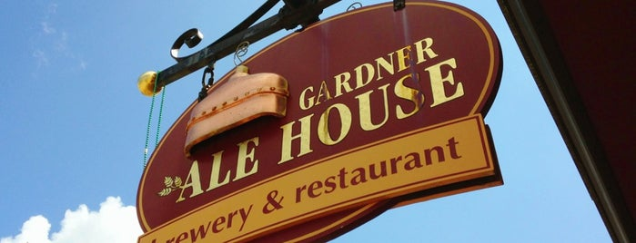 Gardner Ale House is one of Breweries or Bust.