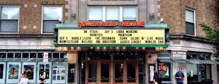 Somerville Theatre - IFFBoston is one of Boston: Fun + Recreation.