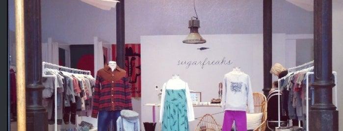 Sugarfreaks Kidswear Store is one of Barcelone.
