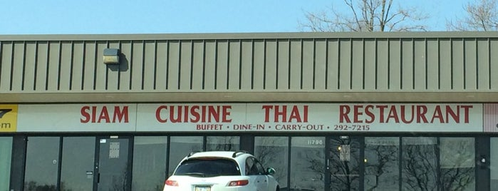 Siam Cuisine is one of Bellevue Food Joints.