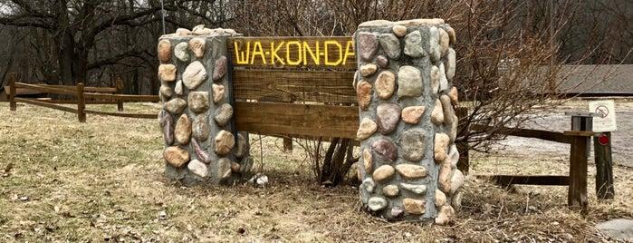 Camp Wa-Kon-Da is one of Boy Scout Camps.