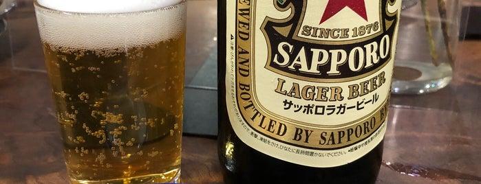 斉藤酒場 is one of Tempat yang Disimpan Hide.