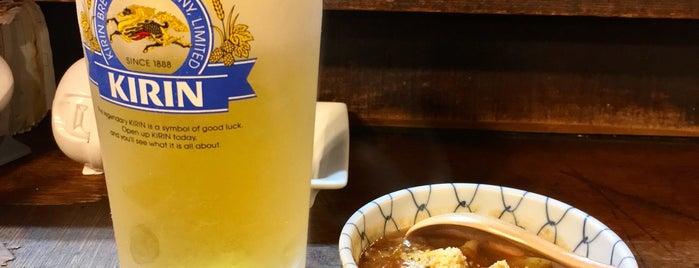 居酒屋あいうえお is one of TOKYO-TOYO-CURRY 4.