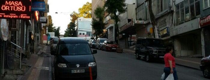 Halıcılar Caddesi is one of สถานที่ที่บันทึกไว้ของ Gizemli.