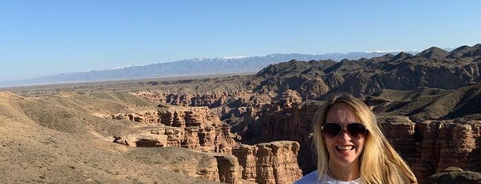 Чарынский каньон / Sharyn Canyon is one of สถานที่ที่ Борис ถูกใจ.