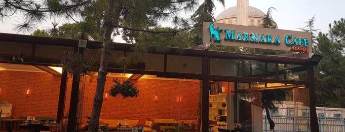 Marmara Cafe Ataköy is one of Maybe.